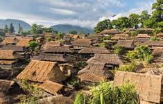 翁丁佤族村落